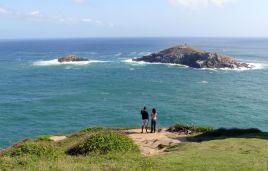 Aussicht von der Franzosen-Insel