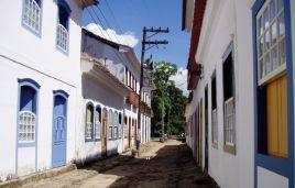 Die Altstadt von Paraty