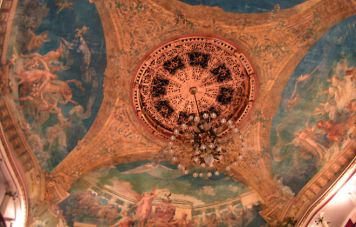 Die Kuppel des Opernhauses von Manaus