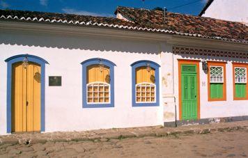Häuser in der Altstadt Paratys