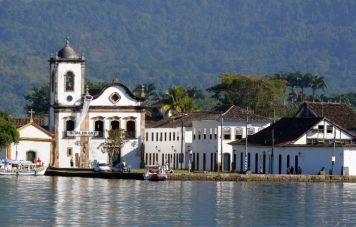 Der koloniale Hafen von Paraty