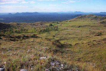 Landschaft des nördlichen Roraima