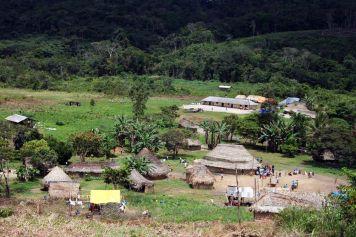 Die Indio Siedlung Paraitepuy