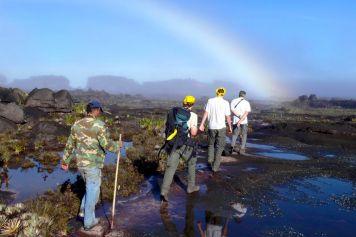 Wanderung auf dem Gipfel des Roraima-Tafelbergs
