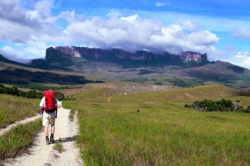 Auf dem Weg zu den Ausläufern des Monte Roraimas