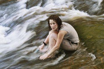 Ein frisches Bad nach langer Wanderung