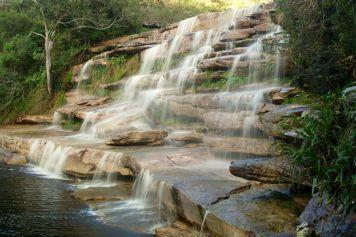 Wasserfall am Poção