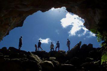 Die Höhlen von Gruta do Morro do Castelo