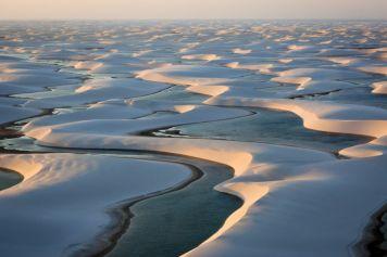 Sanddünen im Nationalpark Lençois Maranhenses