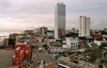 Das Zentrum von Manaus
