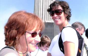 Mylène und Dédé auf dem Corcovado