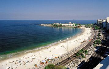 Der Strand von Copacabana