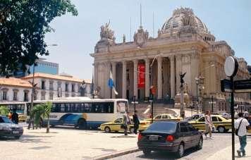 Palácio Tiradentes, bis 1960 Sitz des brasilianischen Parlaments