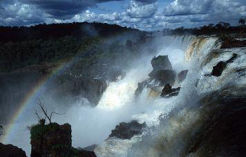 Die Iguassu-Wasserfälle