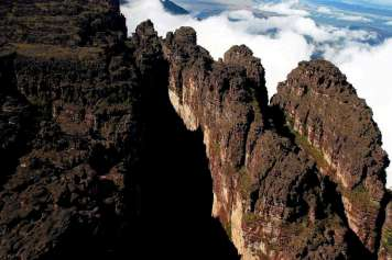 Canyons des Monte Roraima