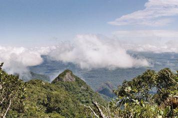 Aussicht vom Gipfel der Bela Adormecida